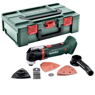 METABO MT 18 LTX 18V CORDLESS MULTI-TOOL BODY ONLY INC METABOX CASE & X14 ACCESSORIES