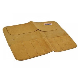 Faithfull LCR8 8 Pocket Leather Chisel Roll 33 x 47cm LCR8