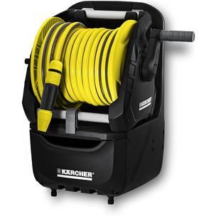 Karcher Premium Hose Reel - 2 in 1 15m hose Accessory Holder - 26451640 HR7.315