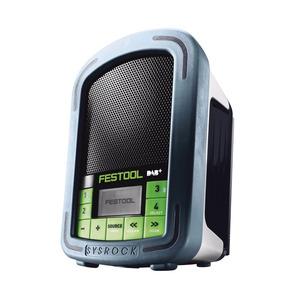Festool BR10 DAB+ GB 240V Sysrock Construction Site Work Radio (Body Only)