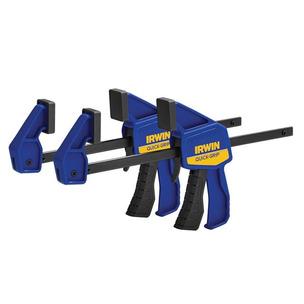 Irwin 5462EL7 Quick Grip Mini Bar Clamps - 150 mm (6 in) twin pack