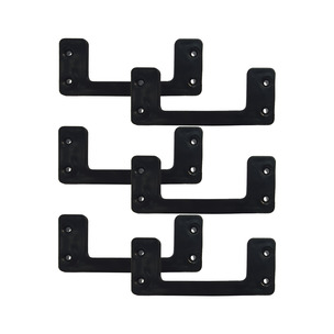 StealthMounts Cleat n'feet Mounting Cleats (Pack of 6)