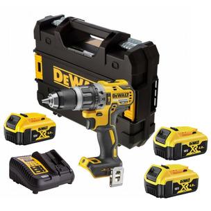 DeWalt DCD796P3 18V XR Brushless Combi Drill (3 x 5.0Ah Li-Ion Battery)