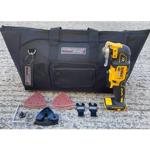 DeWalt DCS355N 18V XR Brushless Multi-Tool with 29pc Accessory Set In PTM Bag