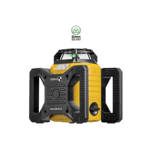 Stabila LAR160G 7 Piece Rotation Laser Set (Includes: tirpod, receiver, levelling rod, target plate, goggles & case)
