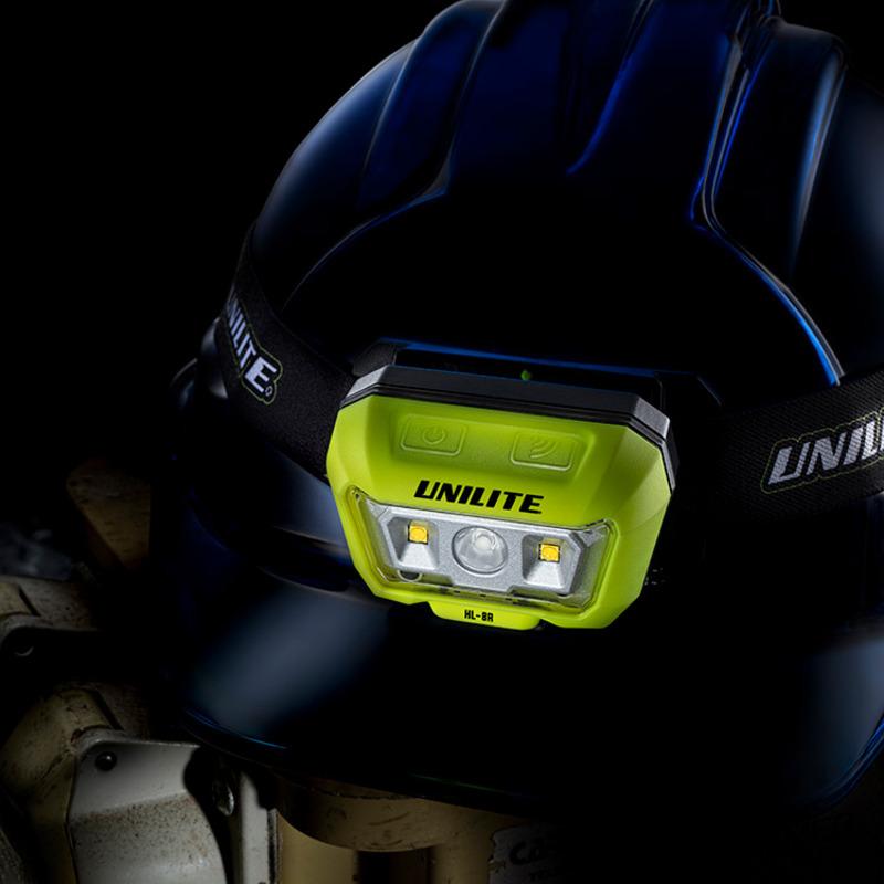 Unilite HL-8R Sensor Dual Beam Headtorch 475 Lumens