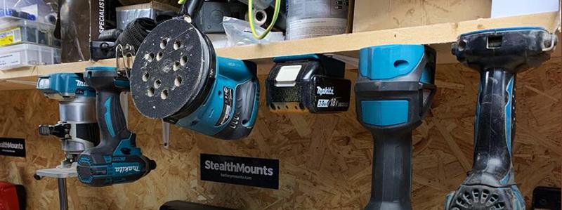 StealthMounts (Battery & Tool Storage)